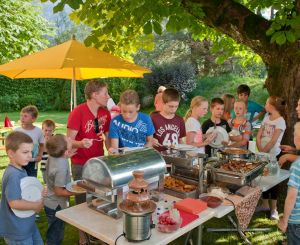Kids' barbeque
