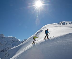 Ski touring in Schladming
