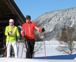 Cross-country skiing in Styria