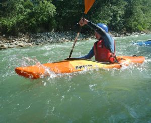 Fun in the water in Styria
