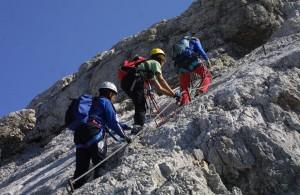 Klettersteig 1
